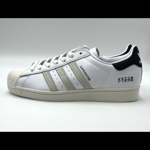 ADIDAS SUPERSTAR ll Men Size 9.5 White Shoes